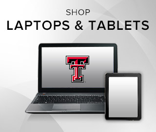 Picture of a laptop and tablet. Click to shop Laptops & Tablets.