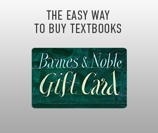 Picture of gift card. The easy way to shop for textbooks. Click to shop Gift Cards.