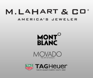M. LaHart & Co. America's Jeweler. Mont Blanc. Movado: The Art of Design. TAG Heuer: Swiss Avant-Garde Since 1860.
